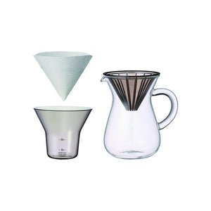 27643 - SCS Coffee carafe set 300ml plastic