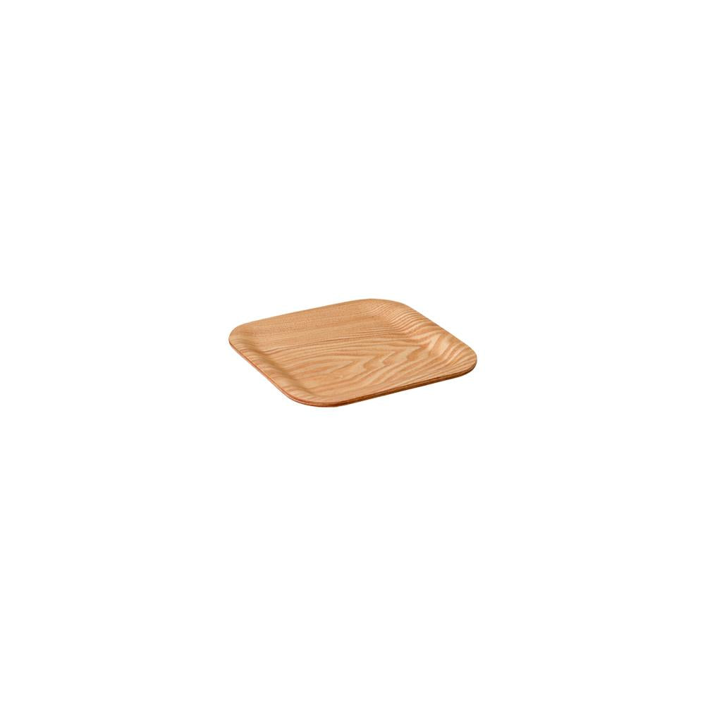 45155 - NONSLIP square tray 160mm willow