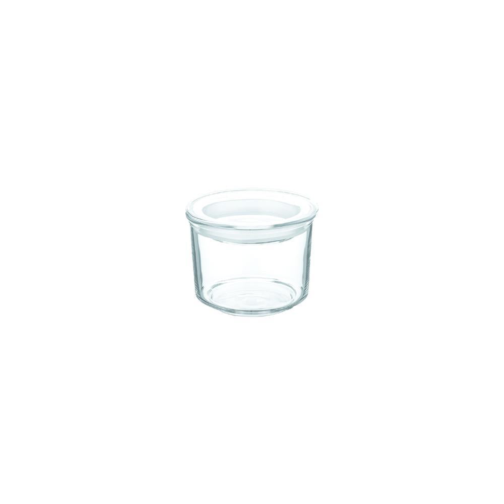 CAST glass lid canister short 180ml