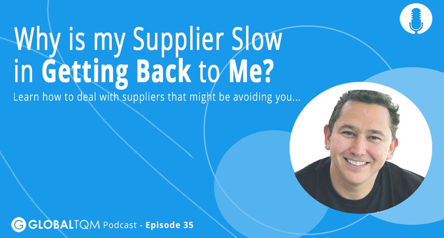 Why is my Supplier Slow in Getting Back to Me?[Podcast ep.035]