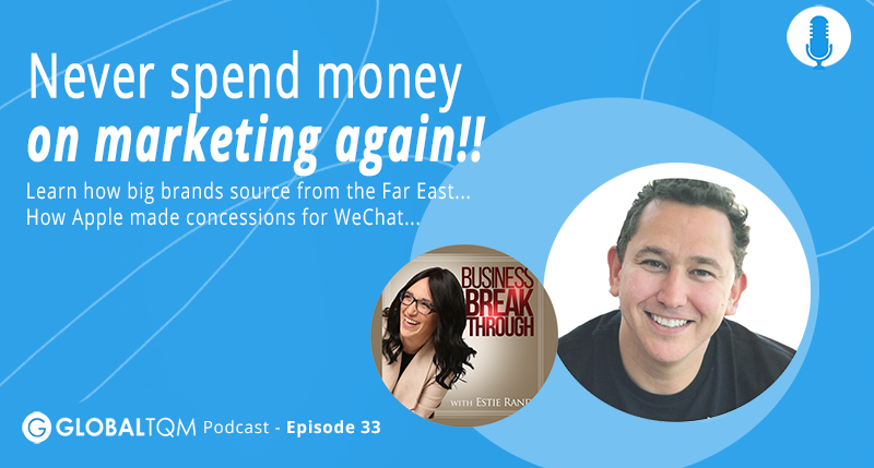 Never spend money on marketing again! [Podcast ep.033]