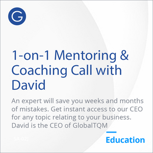 1-on-1 45 minute Training & Mentoring (with our CEO)