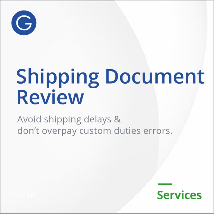Shipping Document Review