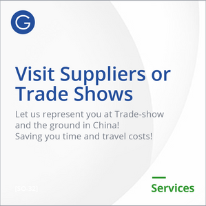 Visit Suppliers or TradeShows