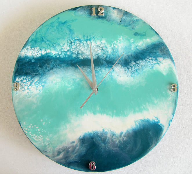 RESIN WORKSHOP - Create a Resin Wall Clock