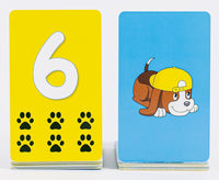 Pup Quiz: Math Card Deck with 104 Cards