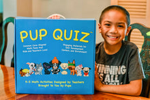 Pup Quiz - Math Kits for Elementary Students - Common Core-Aligned, Multiple-Choice Word Problem Cards with Self-Correcting Content Explanations - 120 Reusable Fact Automaticity Dry-Erase Worksheets - Flash Card Decks for Addition, Subtraction, Multiplication, and Division - Math Card Deck with 104 Playing Cards