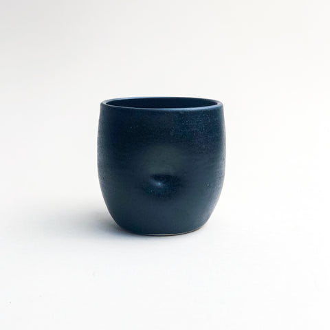Wine Cup // Matte Black (SECONDS)
