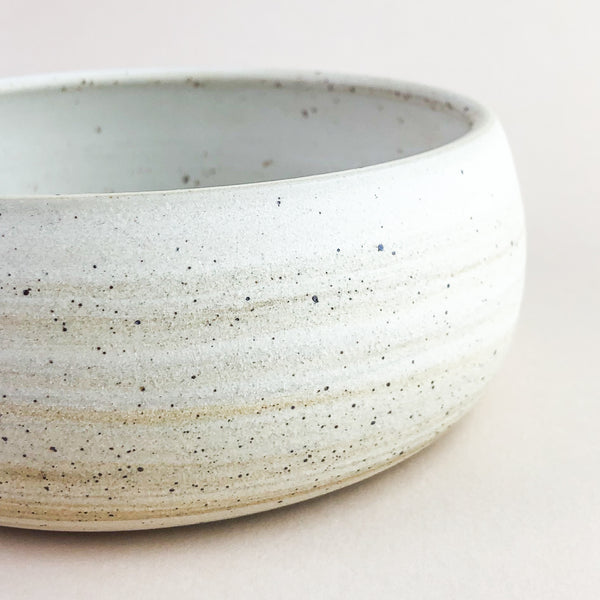 Favorite Bowl // Cream Marbled