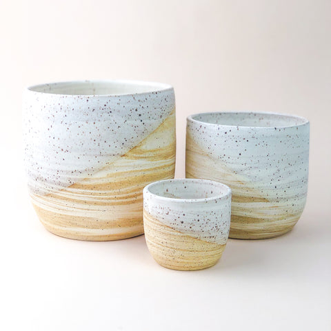 Marbled Planter // Various Sizes