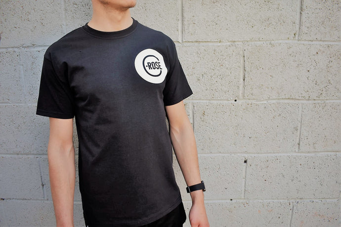 C.ROSE T-shirt black mens