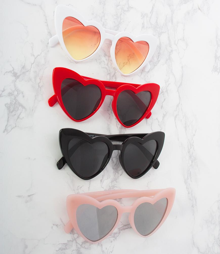 Heart Shaped Glasses and Fresh Summer Scents