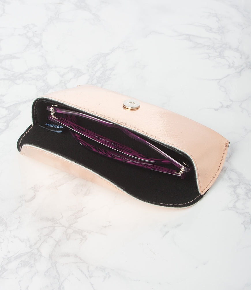 ROSE GOLD SUNGLASS CASE - Pack of 12