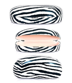 SUNGLASS CASES ZEBRA PRINT 12