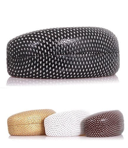Dotted Metallic Sunglass Case - Pack of 12
