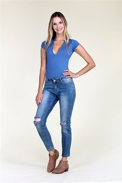 American Blue -Distressed Cotton Jeans - Pack of 12