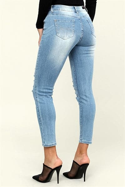 Wholesale distressed Denim Jeans  - Pack of 12