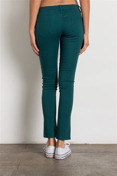 5 Pocket classic Cotton Stretch Jeans Teal - Pack of 12