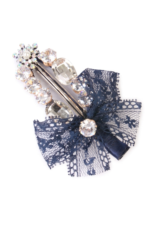 Navy Hair Pin