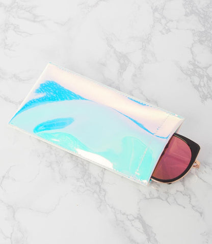 Silver Sunglass Pouch - Pack of 12