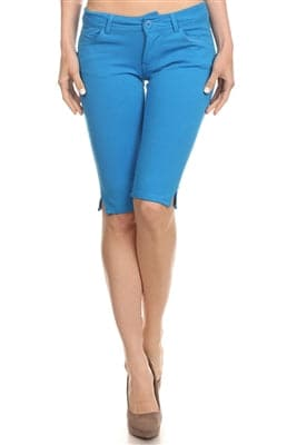 Wholesale Ponte Bermudas Green - Pack of 12