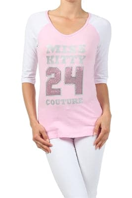 Wholesale Baseball Top Pink - Pack of 6