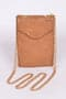Leather Wallet with Detachable Wristlet Khaki