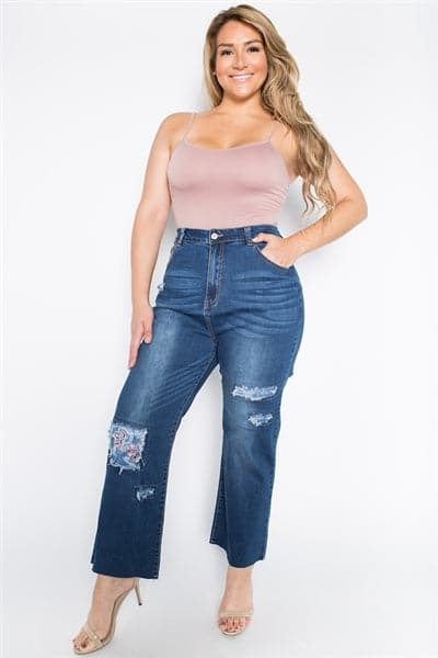Patchwork Plus Size Premium Jeans - Pack of 6