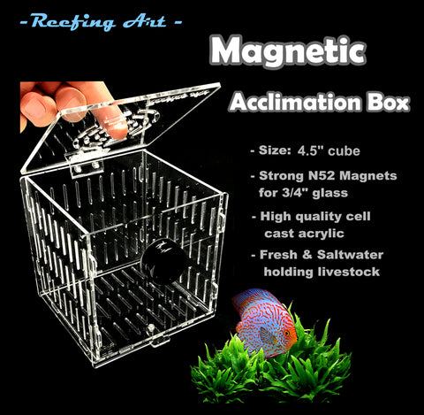 Magnetic  Fish & Coral Acclimation Breeder Box