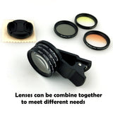 Professional Coral Photography Lens Kit