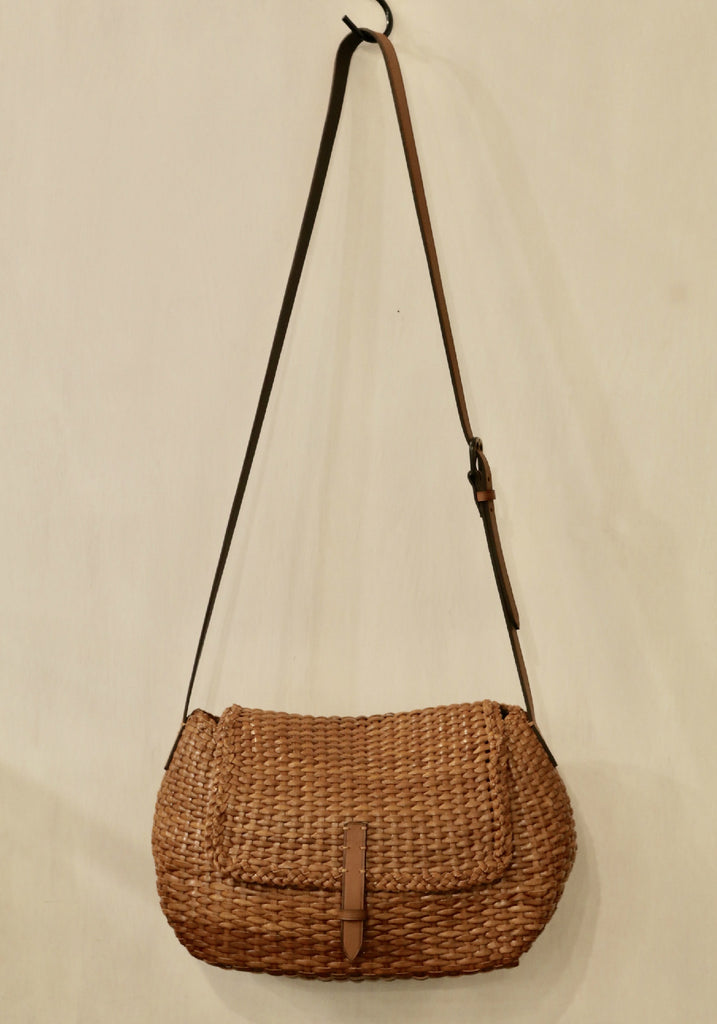 Dragon Diffusion Bamboo City Bag Tan