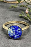 Young In The Mountains Solis Ring in Azurite
