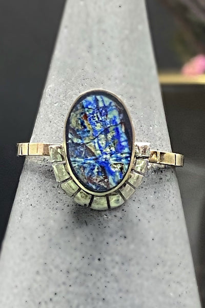 Young In The Mountains Azurite Vita Ring