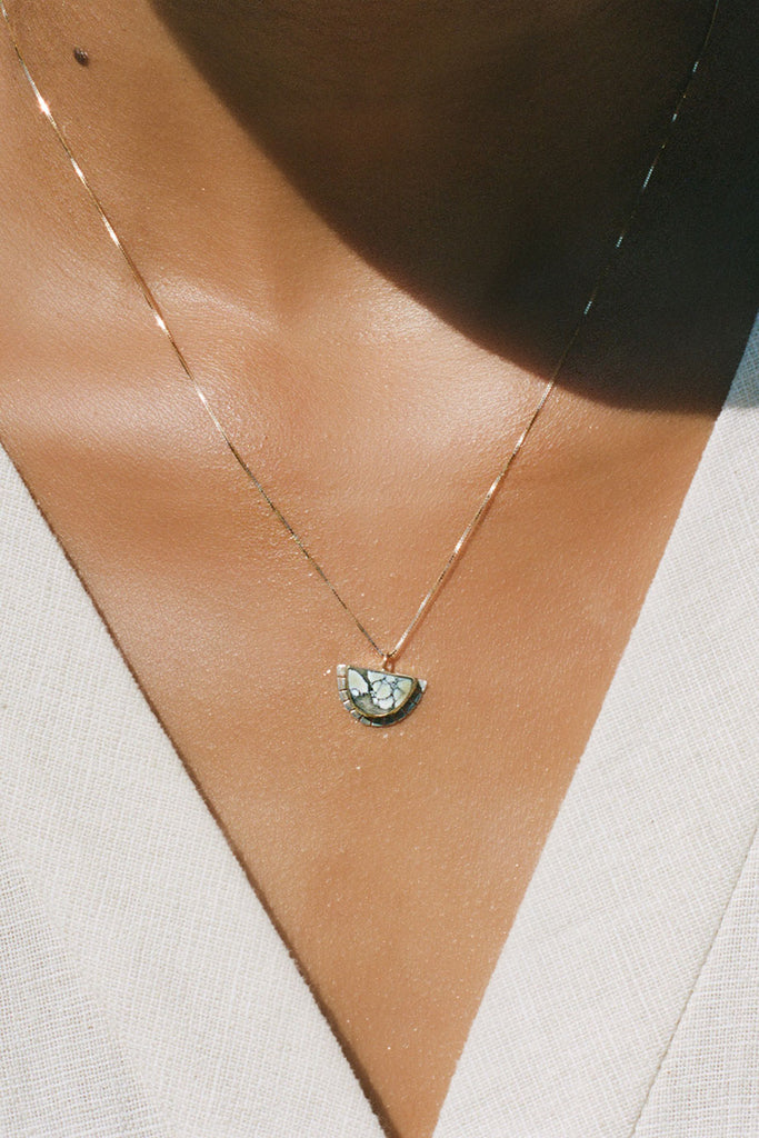 Young In The Mountains - Selene Necklace