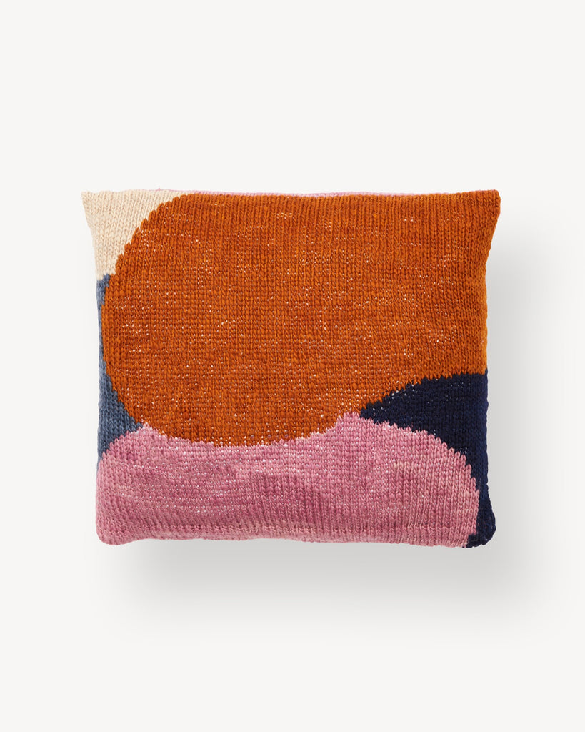 Minna Hillside Pillow in Rust
