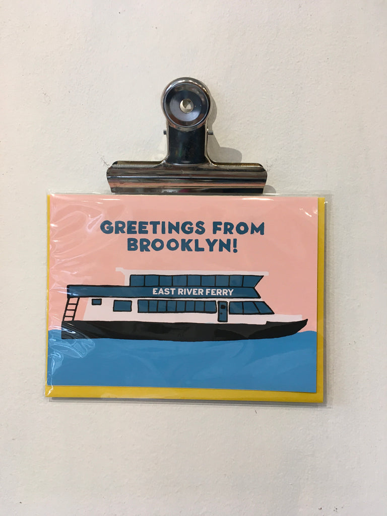 Greeting from Brooklyn