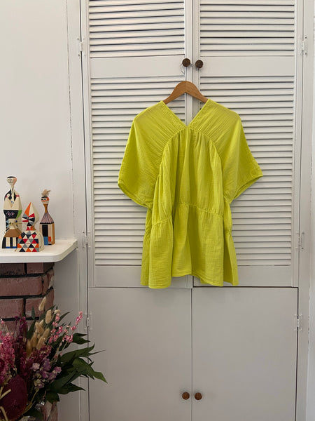 Atelier Delphine Lihue Tunic - Lime