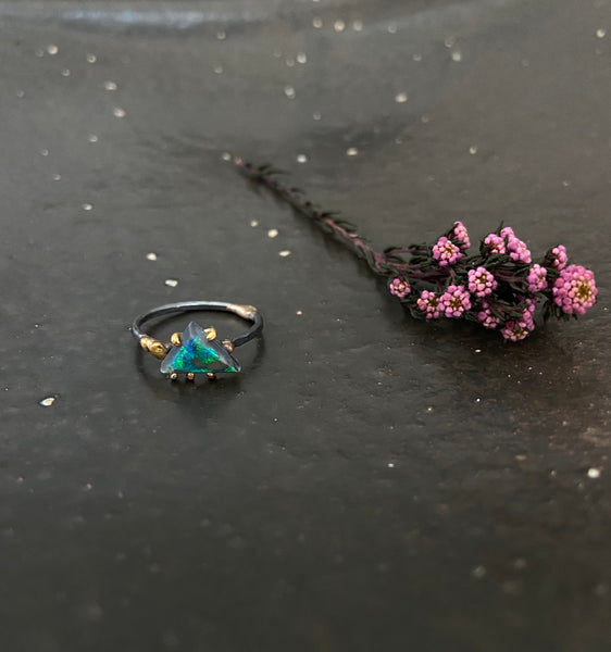 Variance Objects - small opal ring