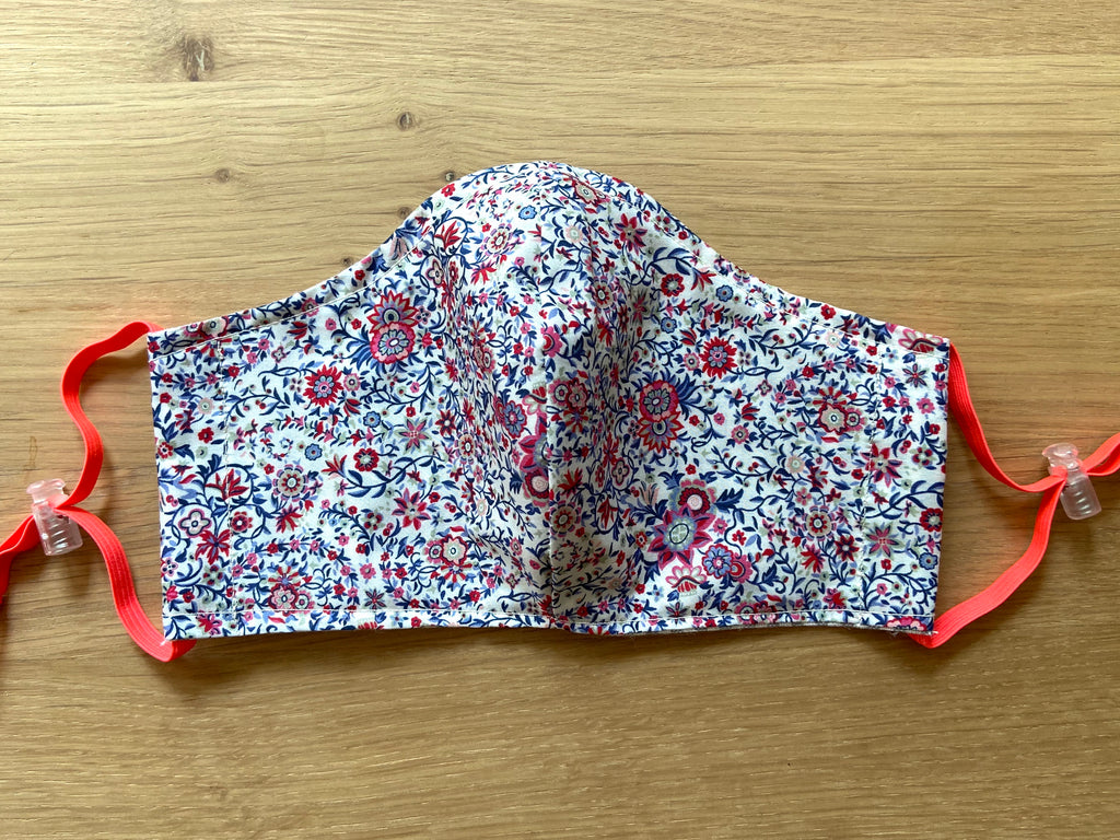Liberty of London fabric Face Mask - Americana Floral