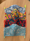 Liberty of London fabric Face Mask - Psychedelic Floral