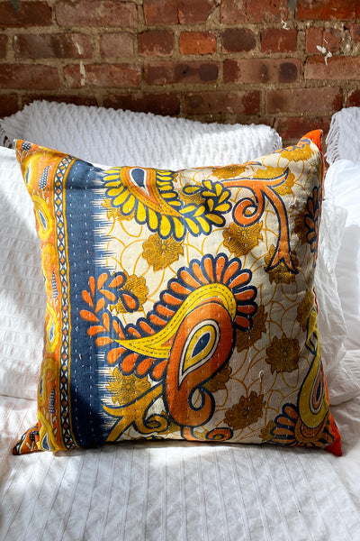 Small Paisley Pillow