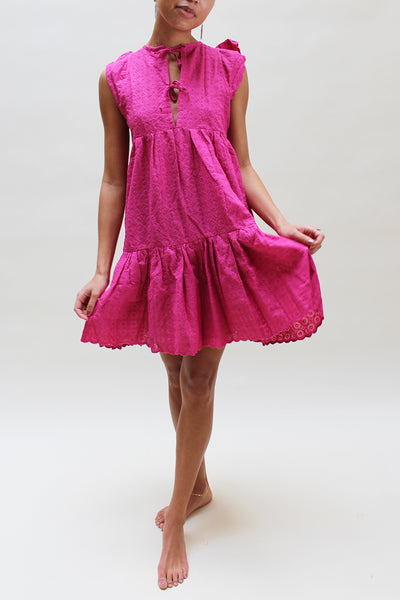 Emerson Fry Pink Mini Dress
