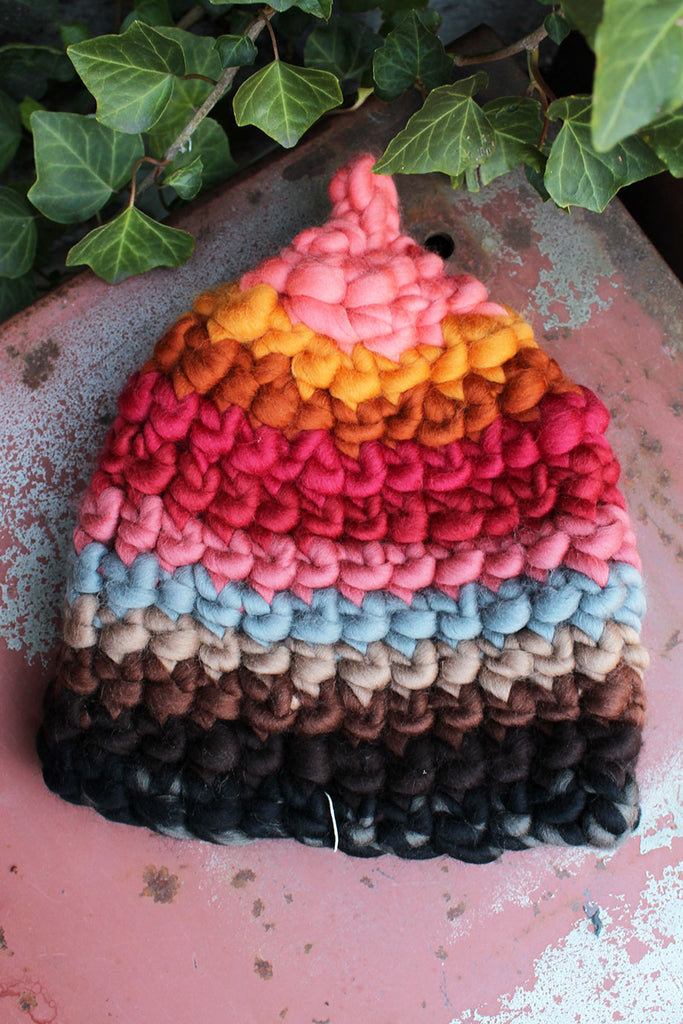 Mischa & Co Knit Sunset Beanie