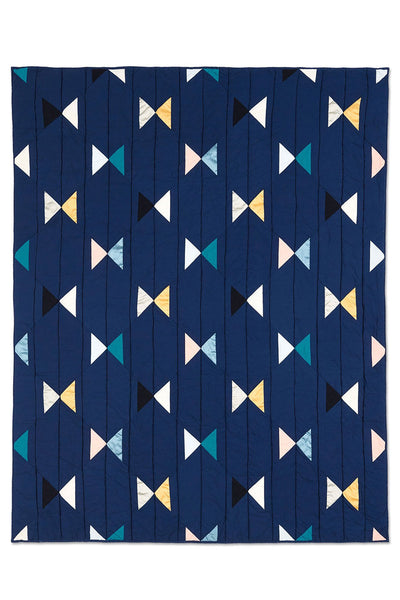 Haptic Lab Butterfly Navy Quilt