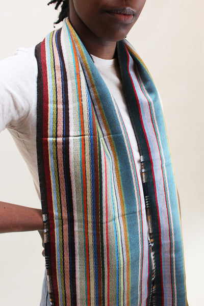 Wallace Swell Silk/Wool Scarf
