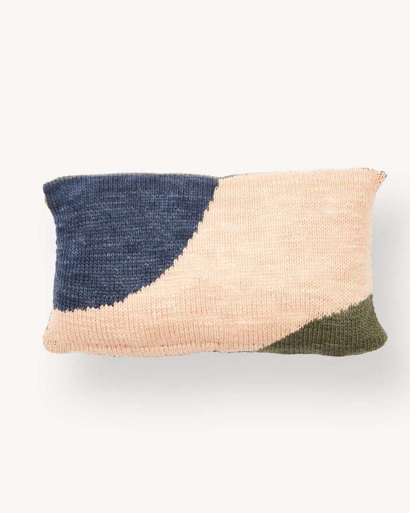 Minna Hillside Lumbar Pillow in Tide