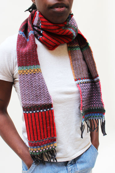 Wallace Swell Lambswool Scarf