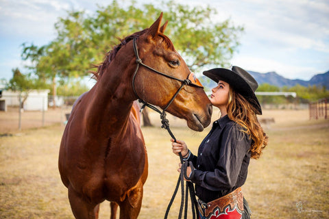 Kennedi Stinson: rodeo queen and barrel racer