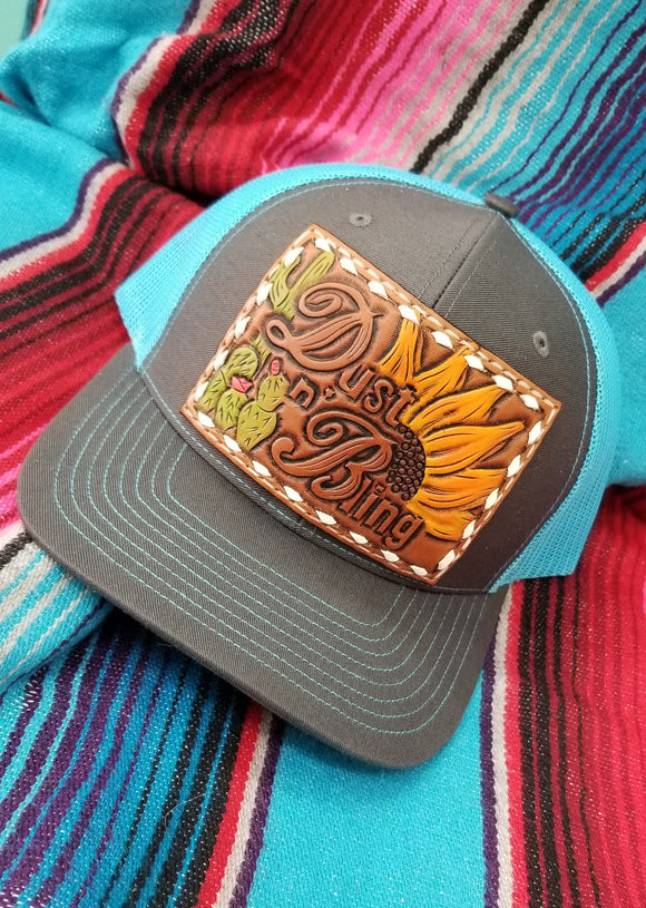 Cactus Sunflower Snapback Trucker