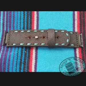 Chocolate Roughout Watch Band